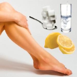 Ceretta fatta in casa… usate Limone, Acqua e Zucchero